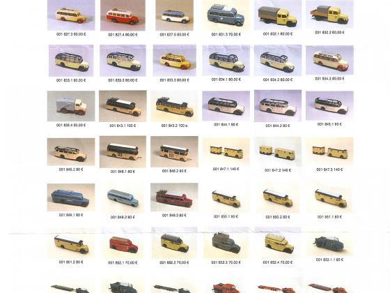 Neuheiten JFK Kleinserienmodelle