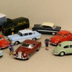 diverse Fahrzeuge