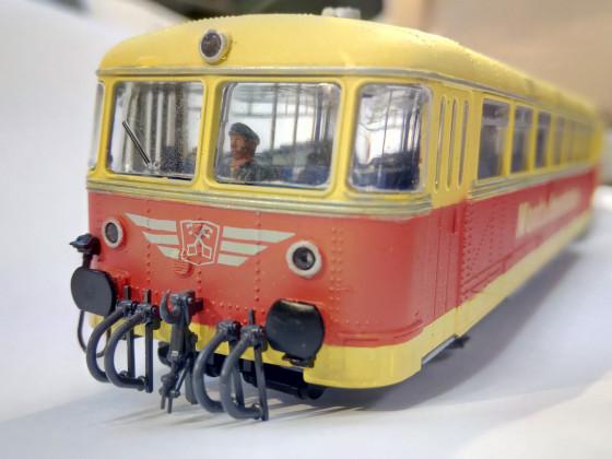 MONTAFON Schienenbus, DIGITAL, selbst gefertigte Beschriftung!!, einfach nur so
