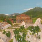 Italien, Bahnhof ganz oben