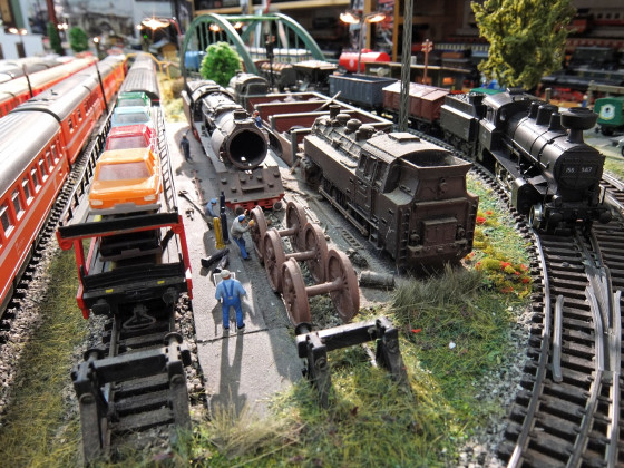 Kleinbahn-Anlage von Wuff